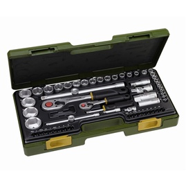 "Proxxon Socket Set With 1/4"" And 1/2"" 65pcs"