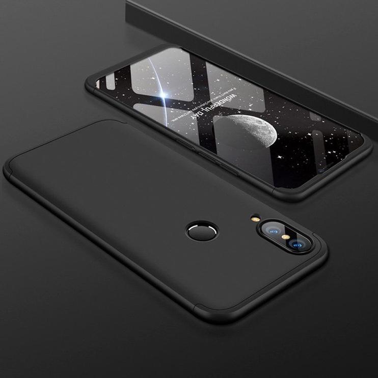 Hurtel 360 Protection Full Body Cover For Huawei P20 Lite Black