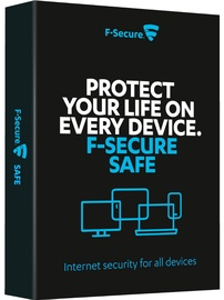 F-Secure SAFE 3-PC 1Y E-KEY