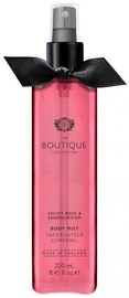 The English Bathing Company Boutique Body Mist 250ml Velvet Rose & Sandalwood
