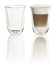 De'Longhi 2 Glass Latte 220ml