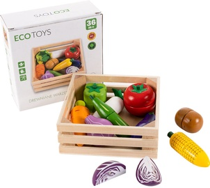 EcoToys Wooden Chopping Vegetables