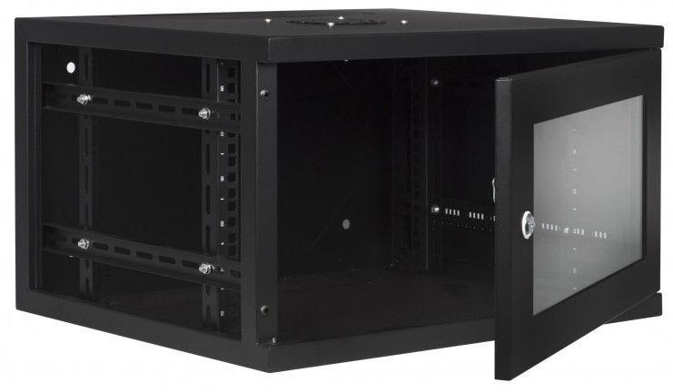 """LMS DATA Rack Cabinet 19"""" 6U CAB-W6U-EL450"""