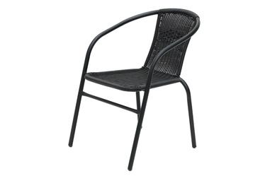 4living Roma Garden Chair Black