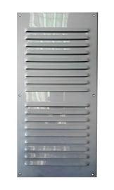 Ventilācijas reste 001595 30x15cm, pelēka