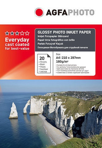 Fotopaber AgfaPhoto Everyday Glossy Photo Paper A4 20pcs