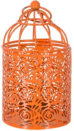 Home4you Latern Amarillo D8xH15cm Orange