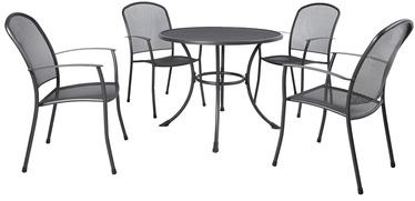 Комплект уличной мебели Home4you Nety K41204 Grey, 4 места