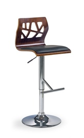 Halmar H-34 Bar Stool Walnut/Black