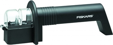 Fiskars Functional Form+ 1019217 Roll-Sharp Knife Sharpener Black
