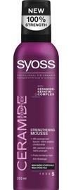 Plaukų putos Syoss Ceramide Complex Strengthening Mousse, 250 ml