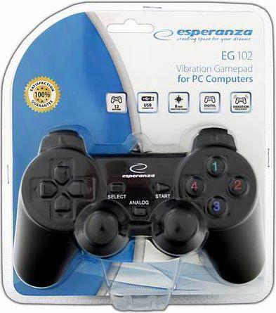 Žaidimų pultas Esperanza Gamepad EG102 PC