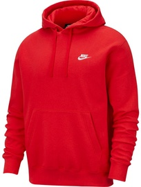 Nike Sportswear Club Fleece Pullover Hoodie BV2654 657 Red M