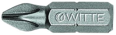 "Witte Screwdriver Bit 1/4""x25mm PH2"