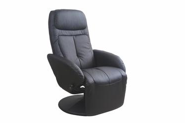 Fotelis Optima, juodas