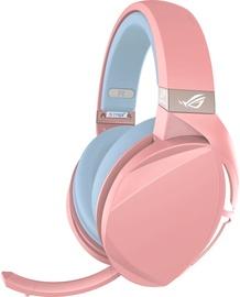 Žaidimų ausinės Asus ROG Strix Fusion 300 Pink