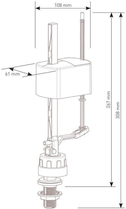 Siamp R24B Vertical 1/2''