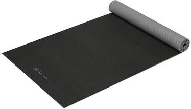 Gaiam Double Sided Yoga Mat 173x61cm Black/Grey