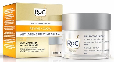 Roc Multi Correxion Revive And Glow Unifying Rich Cream 50ml