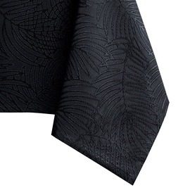 Скатерть AmeliaHome Gaia, черный, 4000 мм x 1550 мм