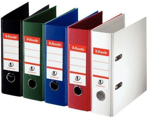 Esselte Lever Arch File No.1 PP FSC 7.5cm Red