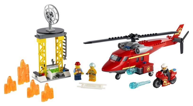 Konstruktorius LEGO City Fire gelbėjimo sraigtasparnis 60281