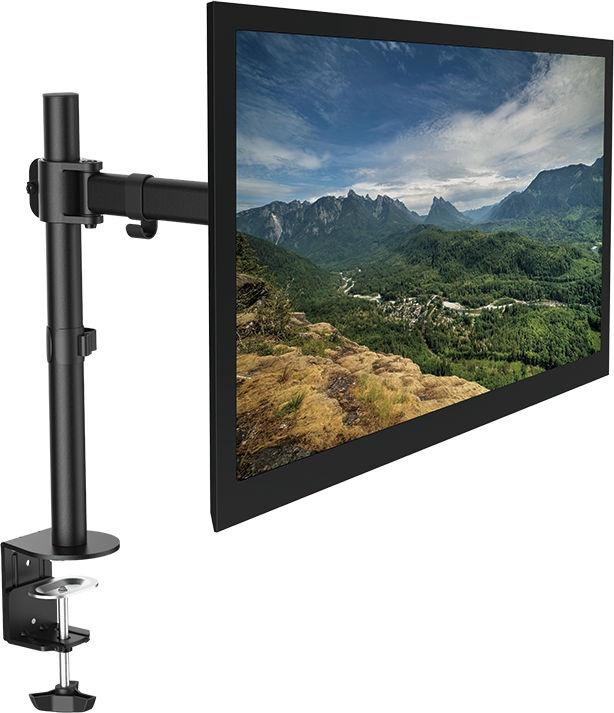 """Televizoriaus laikiklis LogiLink BP0021 Monitor Desk Mount 13-27"""" Black"""