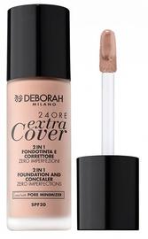 Deborah Milano 24Ore Extra Cover Foundation SPF20 30ml 01