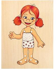 Dekoravimo rinkinys Woody Baby Girl Lacing Dress Up 90017