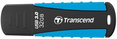 USB atmintinė Transcend Jet Flash 810 Black/Blue, USB 3.0, 32 GB