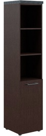 Skyland Torr THC 42.5 Office Cabinet 43x196.8x45.2cm Right Wenge Magic