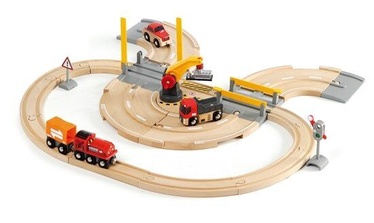 Brio Rail & Road Crane Set 33208