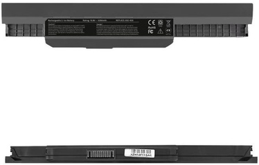 Qoltec Long Life Notebook Battery For Asus K53 A32-K53 5200mAh