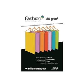 Kopijavimo popierius Fashion, įvairių ryškių spalvų, A4, 70 lapų