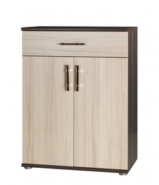 Jurek Meble Inez Plus Reg 10 Chest Of Drawers Dark Ash