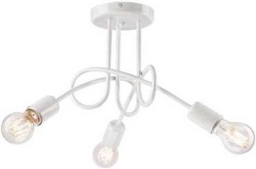 Lamkur Spiral Ceiling Lamp 3x40W E27 White
