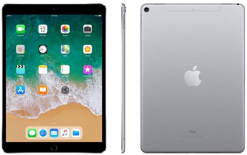 Planšetinis kompiuteris Apple iPad Pro 10.5 Wi-Fi+4G 64GB Space Gray