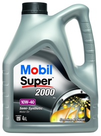 Automobilio variklio tepalas Mobil Super 2000x1, 10W-40, 4 l