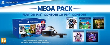 Sony Playstation VR New Mega Pack Camera/5 VR Games