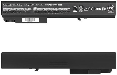Qoltec Long Life Notebook Battery For HP EliteBook 8530p 4400mAh