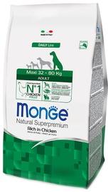 Сухой корм для собак Monge Daily Line Maxi Adult Rich in Chicken 12kg