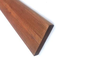 Medinė terasų lenta 28x145x2400 mm