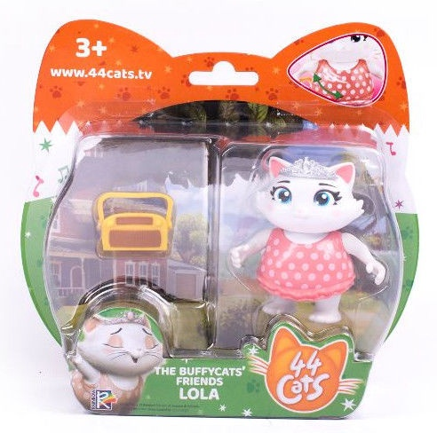 Žaislinė figūrėlė Rainbow 44 Cats With Accessories