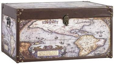 Home4you Wooden Box Ventura 2 60x30xH30cm Globus