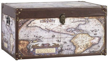 Home4you Wooden Box Ventura 2 60x30xH30cm Globus