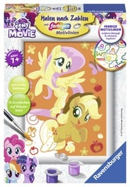 Ravensburger Painting By Numbers My Little Pony Friendship And Adventure 278350