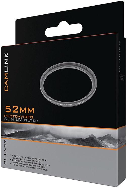 CamLink Slim UV Filter 52mm
