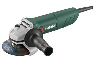 Elektrinis kampinis šlifuoklis Metabo W 750-125, 750 W