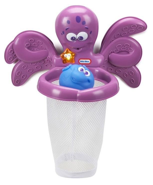 Vonios žaislas Little Tikes Sparkle Bay Octo Hoops 637605