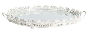 Home4you Eva Mirror Tray 30cm White
